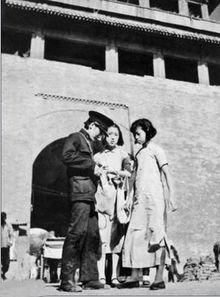 沦陷区里的中国女警