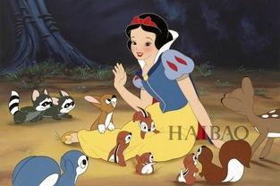 动画片《白雪公主》-那些你期待的童话电影这里全都有
