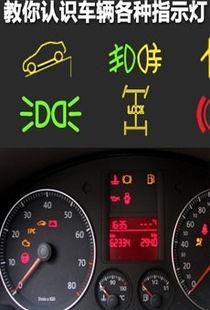 ...汽车故障指示灯标志及含义-汽车指示灯图解 汽车仪表盘指示灯图解 ...