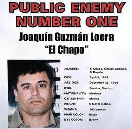 乔奎恩·古兹曼-他是墨西哥黑帮头目,坐拥数架豪车飞机,资产在10...