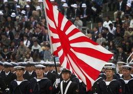 日本自卫队举行阅兵式共有3800余名队员参加