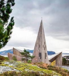 挪威Knarvik教堂建筑设计欣赏