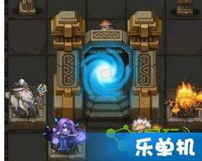 ...你可以很容易发现四个角色站在门前,分别是圣者阿斯?-手机游戏最...