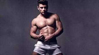 没肌肉是男人,有肌肉是男神