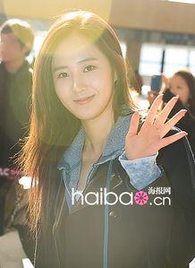 少女时代组合成员Yuri-少女时代组合最新韩国金浦机场街拍 2月4日,...