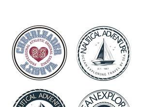 欧美徽章标志设计图片下载ai素材 其他