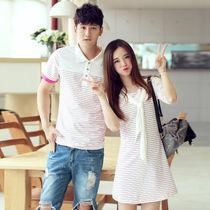 夏季韩版情侣装T恤
