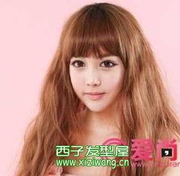2012女生长发烫发发型