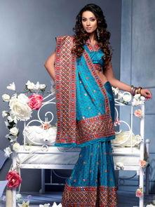 印度美女服装模特 迷醉雨天的甘美