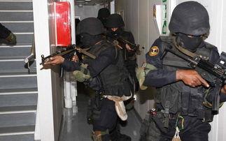 黑猫在印度属于中央武装警察部队... 包括两个单位特别行动组(SAG)...