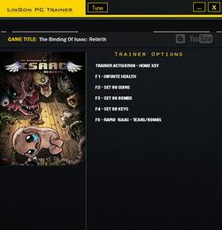 以撒的结合重生 五项修改器下载 1.4 游戏辅助下载