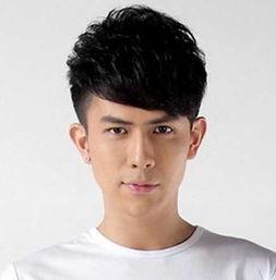 阳光帅气的男生刘海发型