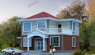 15x9米二层简欧别墅设计,造价18万真的可以拥有么