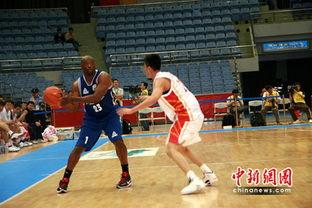 中美篮球明星赛首场结束 美国明星队一分胜八一