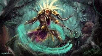 巫僵-暗黑3巫医僵尸巨兽