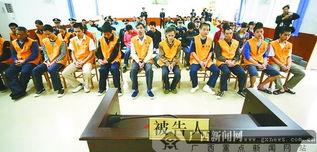 东兴一黑社会团伙25名成员领刑