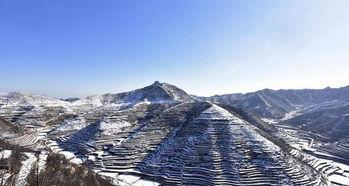 后来的雪-这是12月27日拍摄的涉县王金庄梯田雪景.连日来,河北涉县普降小到...