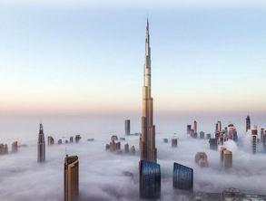 迪拜哈利法塔 原迪拜塔 可选124层 148层