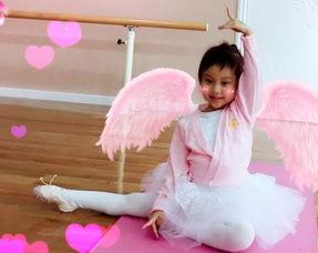 甜馨练芭蕾 美如可爱的小天鹅