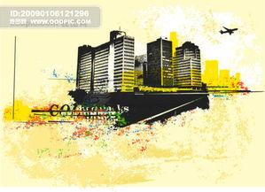 CDR矢量图 建筑景观免费下载