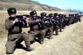 朝鲜军人射击训练-朝鲜 半岛局势趋严重 人民军将无情消灭侵略者