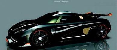 ...以看到这款瑞典超级跑车披著黑色外衣,车头有着夸张的前下扰流...
