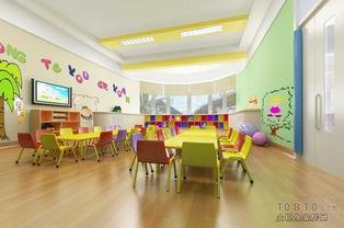 幼儿园活动室布置 感统训练室