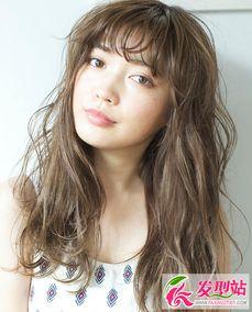 方脸适合哪些发型 女生发型