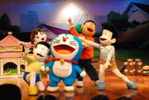 我观人生赢家建后宫-中国宁波网讯 这个周六下午开始,日本原版互动卡通剧《哆啦A梦》将...