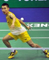 2012香港羽毛球公开赛 李宗伟飞身回球