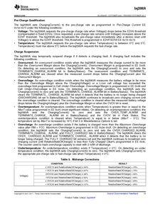 ...ents厂商 BQ2060A E619DBQG4 pdf预览第 15 页, datasheet数据手...