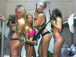 以色列女兵发布军装制服露臀不雅照遭罚 图