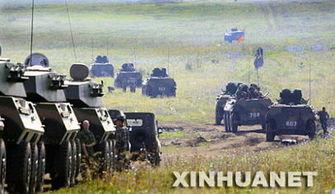...图:之前的一次和平使命演习.-简氏 上合组织重启大规模军演引猜...