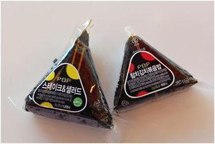三角饭团-去韩国一定要吃的小吃