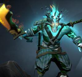 剑圣至宝特效 变强了也变绿了 还少一根手指