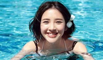 唐艺昕-三线女星芙蓉出水泳装照,景甜奕欢齐上阵