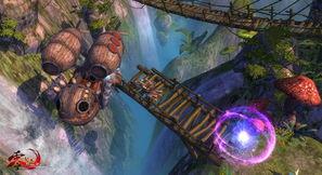 ...蒸汽朋克是《零纪元》的核心世界观,在《零纪元》的游戏世界里,...