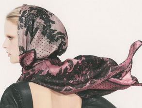 丝巾的系法和搭配 Valentino2013春夏丝巾系列 丝巾的系法图解