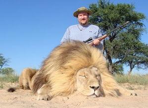 ...来供游客射杀.传说和科学都一致认为狮子对这一地区生态系统的维...