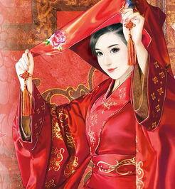 唯美手绘古装美女图片倾国倾城令人难忘