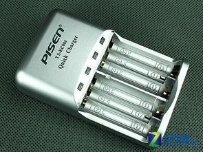 品胜 KC006快易充 镍氢电池充电器-5或7号电池 单独或混合充电