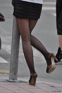 短裙黑丝袜OL姐姐