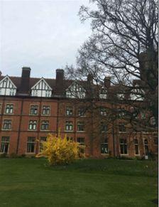 英国阿贝剑桥高中教学楼(目前与剑桥大学Homerton College共用此教...