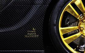 ...Veyron Mansory Linea Vincero d Oro黄金特别版-Bugatti Veyron黄金...