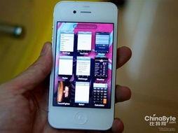 白色版iPhone视频现身网站 使用新操作界面