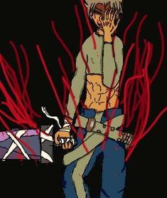 地上捂着断手的肌肉男被黑气包裹附了起来,随着叶斌将手一握,黑色...