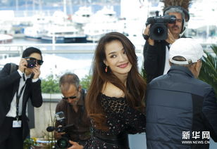 5月21日,电影《聂隐娘》的主演舒淇在法国戛纳出席戛纳电影节的媒...
