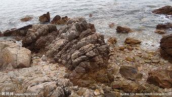 海边石头图片