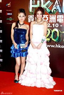 ...黄精甫等人一同出席了香港亚洲电影节的开幕礼.苍井空与麦浚龙...