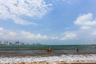 青岛第三海水浴场图片